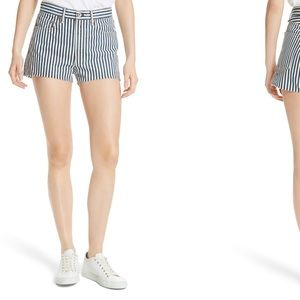 NEW • Rag & Bone • Justine Indigo Stripe Shorts 32